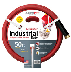 Industrial Red Apex Hose Image