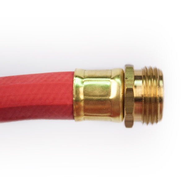 Red Rubber Hose Connector Image