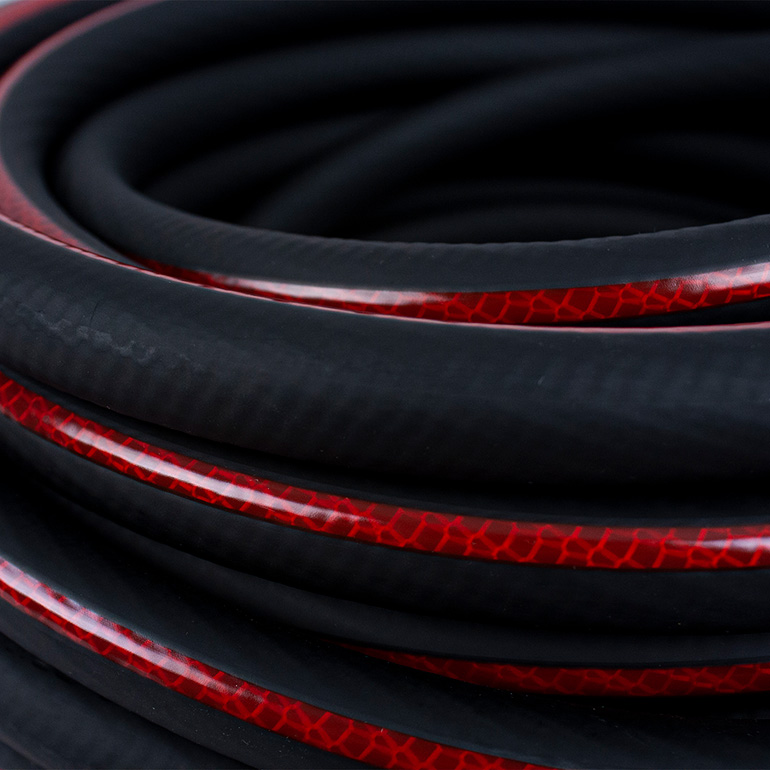 Heavy Duty Commercial Hose Close Up Image