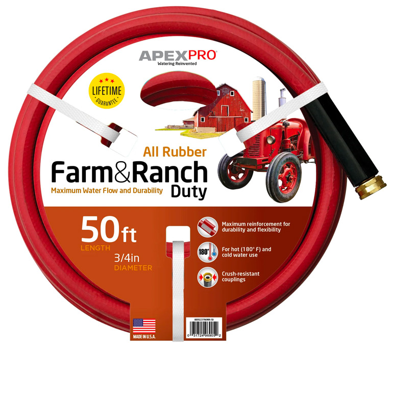 Farm and Ranch Hot Water Hose Image