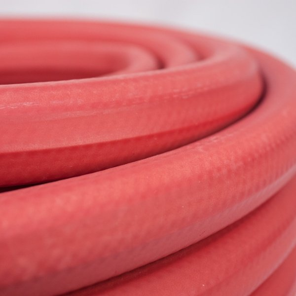 Farm Hot Water Hose Close Up Image