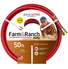 Commercial Farm and Ranch Apex Hose Image