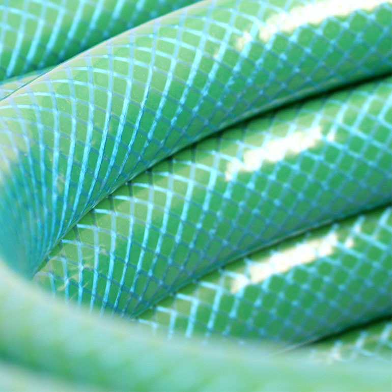 All Purpose Garden Hose Close Up Image