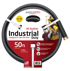 Industrial Black Apex Hose Image