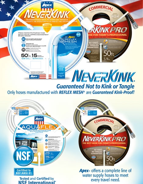 NeverKink RV/Marine Ad